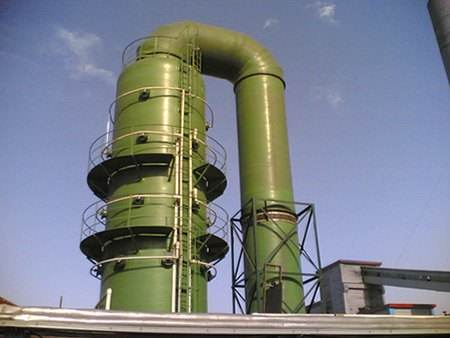 濕式脫硫除塵器